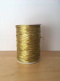 450 Yards Gold Elastic- Craft