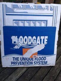 Floodgate, helps prevent flooding