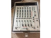 Allen & Heath Xone 62 6 channel mixer in flight case