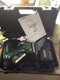 Hitachi cordless 18 volt combi drill
