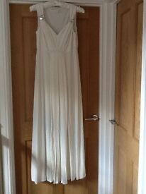 Long dress (suitable for evening wear, wedding or prom)