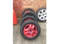 Corsa alloys new tyres