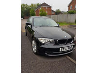57 PLATE BMW 1 SERIES 2.0 118i SE 5DR, LONG MOT, ONE PREVIOUS OWNER, 75K, SERVICE HISTORY,