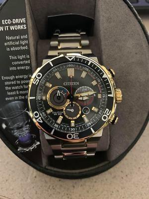 Citizen Eco-Drive Brycen CA4258-87E Men's Two-Tone S/Steel Watch
