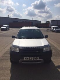 Land Rover Freelander Serengeti Limited Edition SE 1.8 Petrol New Front Tyres 75000 Miles
