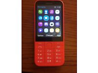 Nokia 225. Single SIM. Red. New Boxed.