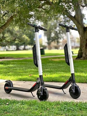 Brand New Segway ES4 Electric Scooter with External Battery!White Color Only!