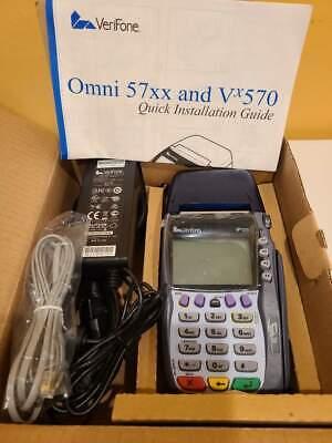 Verifone Omni 5700 Vx570 Credit Card Machine