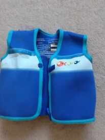 Buoyant Aid, safety swimming zip up jacket ages 4-5 years
