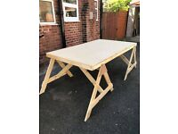 Large work table / workbench ideal for screen printing