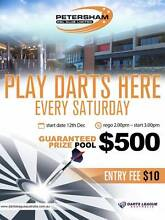 Darts Tournament Every Saturday at Petersham RSL - 1ST GAME FREE Petersham Marrickville Area Preview