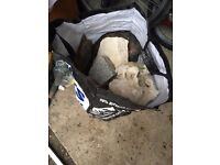 I have a large bag of rocks for fish tank i no longer need