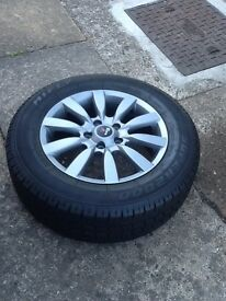 "Alloy Wheels with tyres 16 "" 5x114.3 et 38"