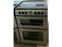 i794 silver belling 60cm double electric cooker comes with warranty can be delivered or collected