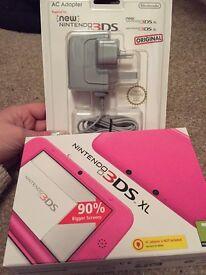 Brand New Pink Nintendo 3DS XL