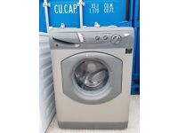 Silver 'Hotpoint' Washing Machine -Good condition / Free local delivery and fitting