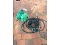 30 foot hose and reel