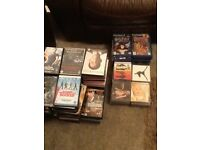 Job lot 100+ DVD's, CD's and Play Station 2 games