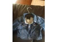 Gap denim jacket Age 6-12 months