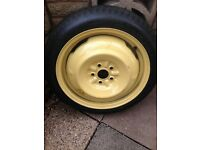 Toyota prius space saver spare wheel