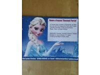 Frozen Themed Party Children's Entertainer As Elsa with Disco Available! Activities Included!