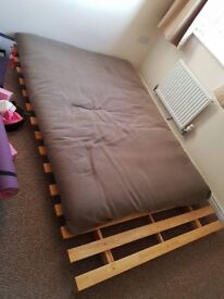 Double Futon. Needs a bolt replacing, otherwise good condition