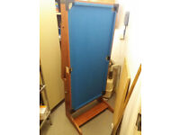 FREE 4 Foot Mini Pool Table (Snooker/Billiards) with Balls & Triangle - Ideal for Home/Kids Bedroom