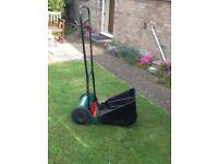 Qualcast Push Mower with grass box