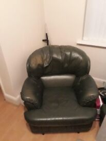 """2 seater sofa and 2 rocking chairs """" free"""" needs to collect. Prompt"""
