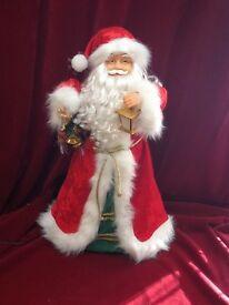 Fibre Optic Animated Musical Santa