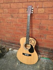 Martin Smith Acoustic Guitar - Full size. Needs new strings.