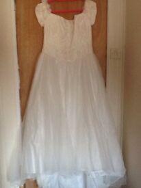 Wedding dress - size 16