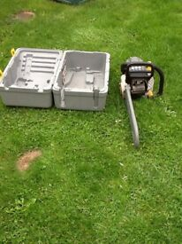 "RYOBI 16"" Petrol Chainsaw with case works great can be seen working cb5 £65"