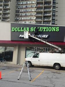 Signs Storefront sign 416-915-5757, LED Channel letters,