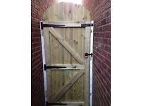 Hand made Garden Gate - Mate to Measure