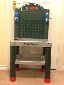 Bosch childrens work bench