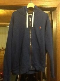 Men's Ralph Lauren zip hooded top