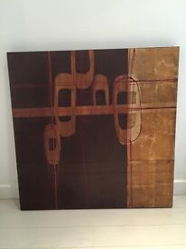 2 designer John Lewis canvas paintings, enormous sizes- must see