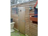 8x4 gardon shed
