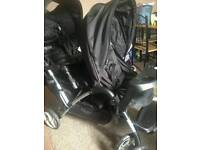 Graco double buggy push chair £100