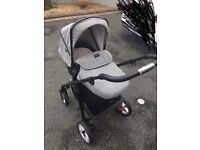 Silver Cross Special Edition Eton Grey Poineer Travel System