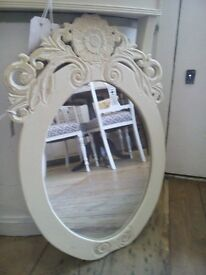 Shabby Chic wall MIRROR.