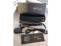 GHD V GOLD WIDE STRAIGHTENERS 100% GENUINE BOXED