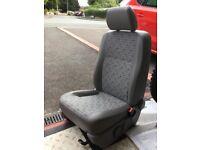 VW T5 drivers comfort seat