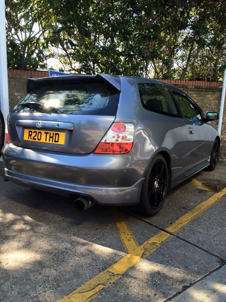 2005 honda civic ep2 sport 1 6 vtec grey in slough. Black Bedroom Furniture Sets. Home Design Ideas