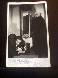 Original Authograped photograph