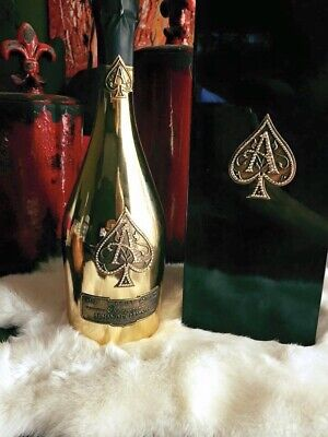 Swarovski Crystal Ace of Spades full Bottle!