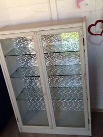 Upcycled Shabby Chic Display Unit / Bookcase