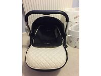 Silver cross infant car seat immaculate condition
