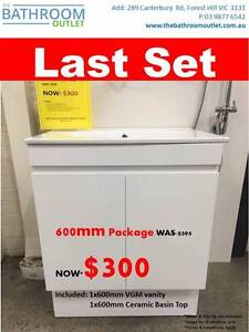 Vanity Package on Special$300 Last Set! Forest Hill Whitehorse Area Preview